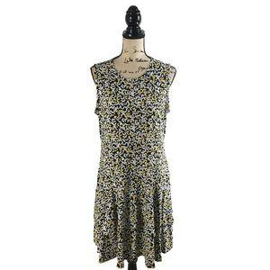 Michael Michael Kors XL Dress Tiered Butterfly